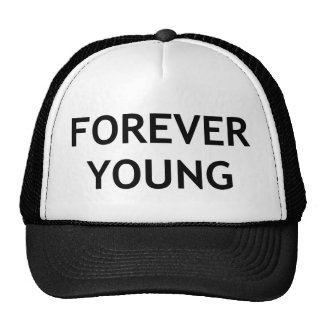 picture forever young cap