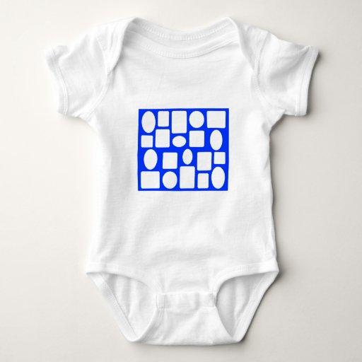 Picture Frame Landscape Blue The MUSEUM Zazzle Baby Bodysuit