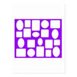 Picture Frame Landscape Purple Lt The MUSEUM Zazzl Postcard