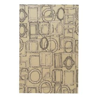 picture frames aplenty wood print
