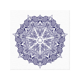 picture mandala canvas print