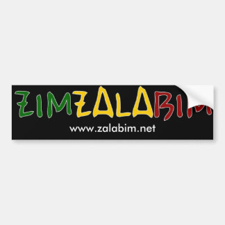 Picture oak alder Zimzalabim Bumper Sticker