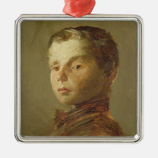 Picture of a Boy, 1875 Christmas Ornament