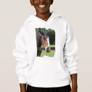 Picture of a Quarter Horse Kid's Hooded Sweatshirt