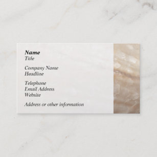 Shell business cards zazzle uk picture of a shell business card colourmoves