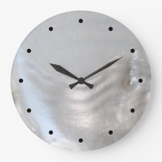 Picture of a Shell. Large Clock