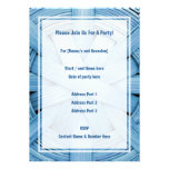 Picture of Blue Basket. Personalized Invites