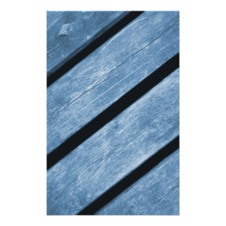Picture of Blue Wood Planks 14 Cm X 21.5 Cm Flyer