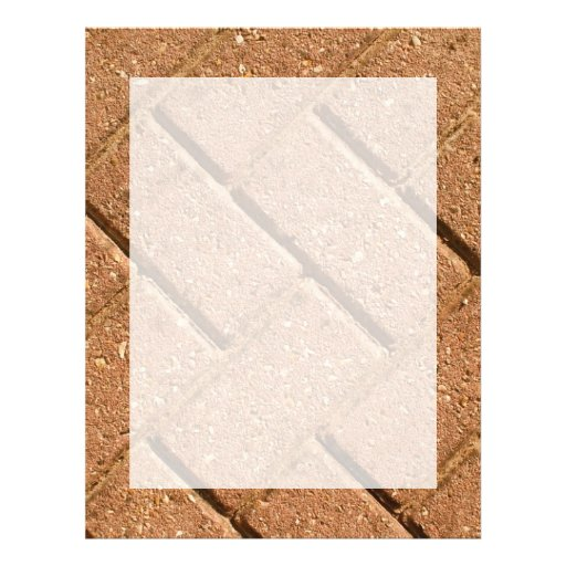 Picture of Bricks. Personalized Flyer