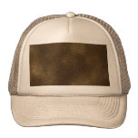 Picture of Brown Leather. Mesh Hat