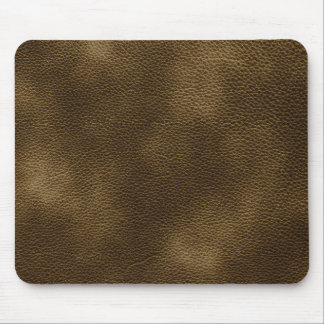 Picture of Brown Leather. Mouse Mat