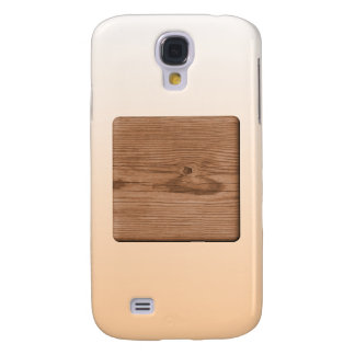 Picture of Brown Wood. Galaxy S4 Case
