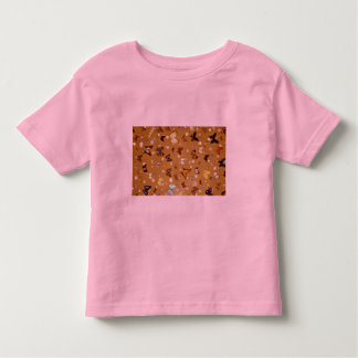 Picture of Butterflies on sand with shells T-shirts