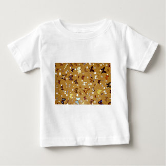 Picture of Butterflies on sand with shells Tshirt