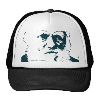 Picture of Darwin and mentions. Hat
