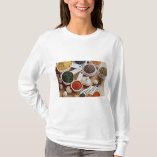 Picture of Fresh spices with garlic cloves T-Shirt