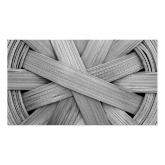 Picture of Gray Basket. Double-Sided Standard Business Cards (Pack Of 100)