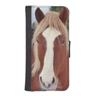 Picture of Horses - A horse with beautiful mane iPhone SE/5/5s Wallet Case