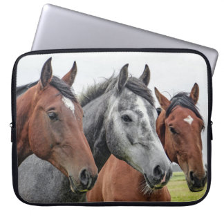 Picture of horses laptop sleeve