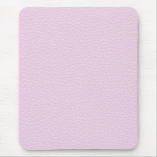 Picture of Light Pink Leather. Mouse Mat