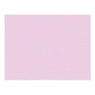 Picture of Light Pink Leather Post Card