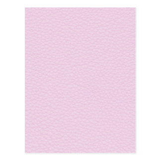 Picture of Light Pink Leather. Postcard
