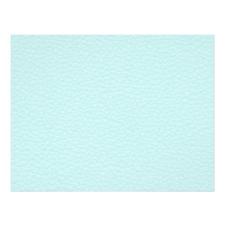 Picture of Light Turquoise Leather. 21.5 Cm X 28 Cm Flyer