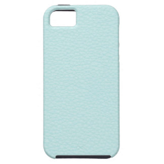 Picture of Light Turquoise Leather. iPhone 5 Case