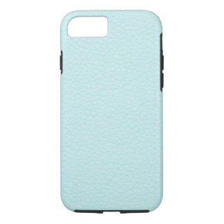 Picture of Light Turquoise Leather. iPhone 8/7 Case