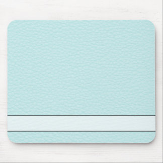 Picture of Light Turquoise Leather. Mouse Mat