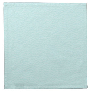 Picture of Light Turquoise Leather. Napkin