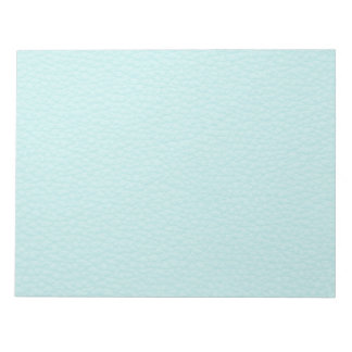 Picture of Light Turquoise Leather. Notepad