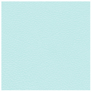Picture of Light Turquoise Leather. Photo Cut Out
