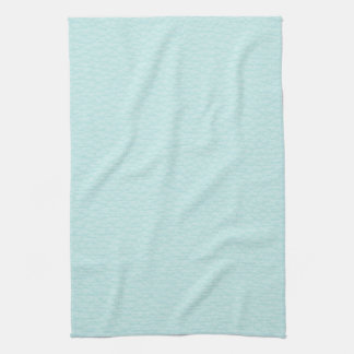 Picture of Light Turquoise Leather. Tea Towel