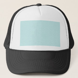 Picture of Light Turquoise Leather. Trucker Hat