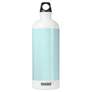 Picture of Light Turquoise Leather. Water Bottle