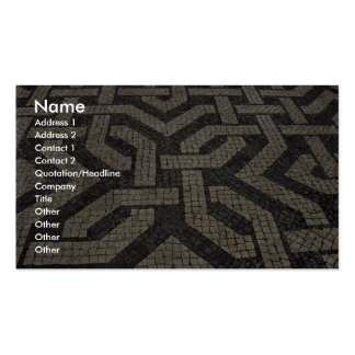 Picture of Mosaic, Lisbon, Portugal Business Card Template