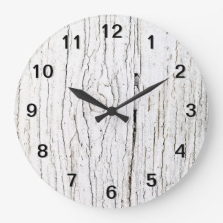 Picture of Old Painted Wood. Wall Clocks