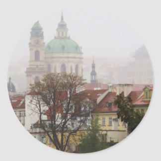 Picture of Prague Classic Round Sticker
