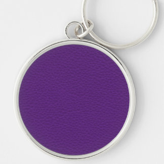 Picture of Purple Leather. Key Ring