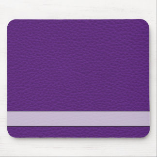 Picture of Purple Leather. Mouse Mat