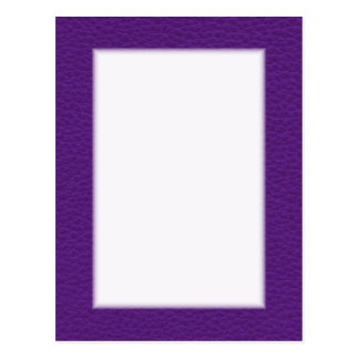 Picture of Purple Leather. Postcards