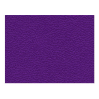 Picture of Purple Leather Postcard