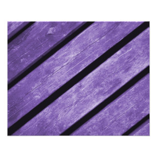 Picture of Purple Planks of Wood Flyers