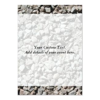 Picture of Small Stones. 13 Cm X 18 Cm Invitation Card
