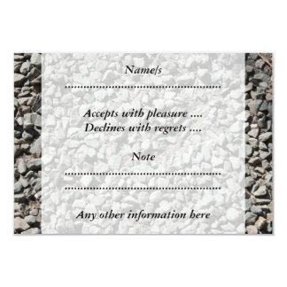 Picture of Small Stones. 9 Cm X 13 Cm Invitation Card