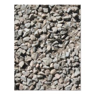 Picture of Small Stones. Personalized Invitation