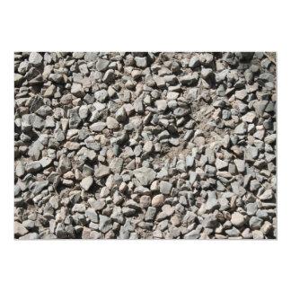 Picture of Small Stones. 5x7 Paper Invitation Card