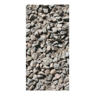 Picture of Small Stones. Photo Card Template