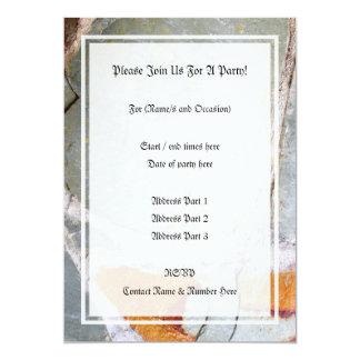 Picture of Stone Wall 13 Cm X 18 Cm Invitation Card